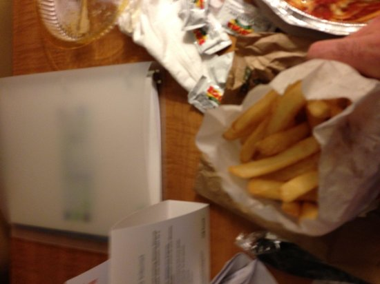 Pandora's Lunchbox: Small French fries