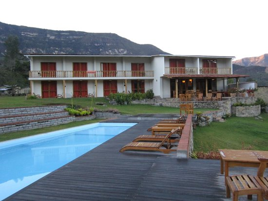 Gocta Andes Lodge: the lodge