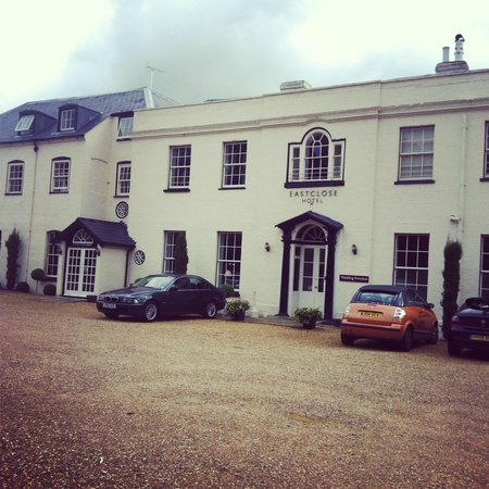 Eastclose Country House Hotel: front of the eastclose hotel