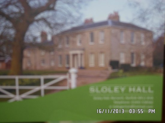 Sloley Hall: Copy of front of Hall