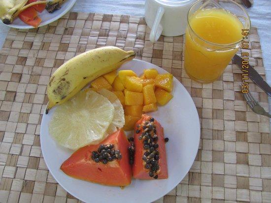 Pousada Barcarola: Desayuno