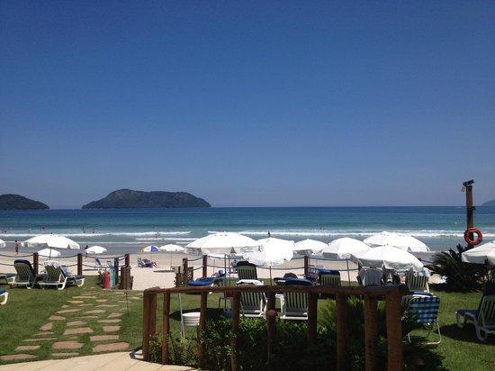 Pousada Aldeia Do Juquehy: jardim - praia