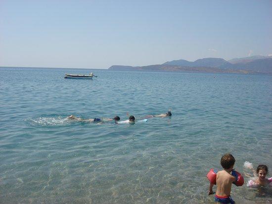Villa Drossia: Ocean/beach area