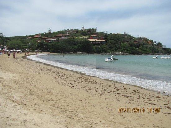 Pousada Barcarola : Praia Ferradura cerca de Puosada Barcarola
