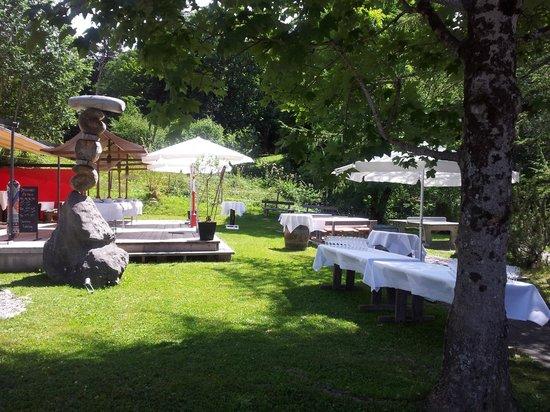 Geltenhorn Gasthof Hotel: Gartenbereich
