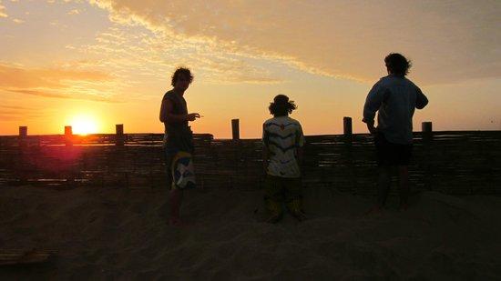 Misfit Hostel: watching sunset