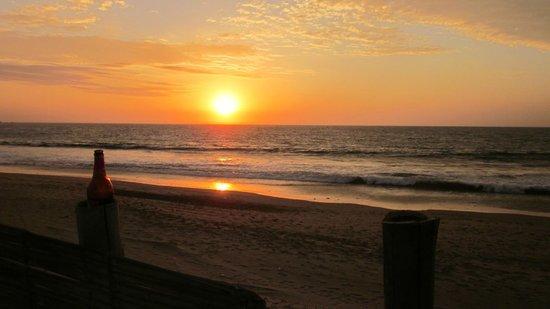 Misfit Hostel: sunsets were amazing