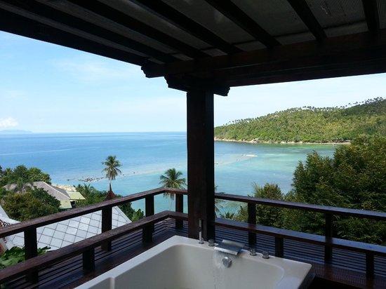 Salad Buri Resort & Spa: vistas desde el balcon de la habitacion