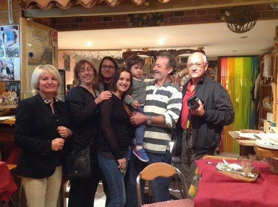 Sapori Solari: Photo de famille !