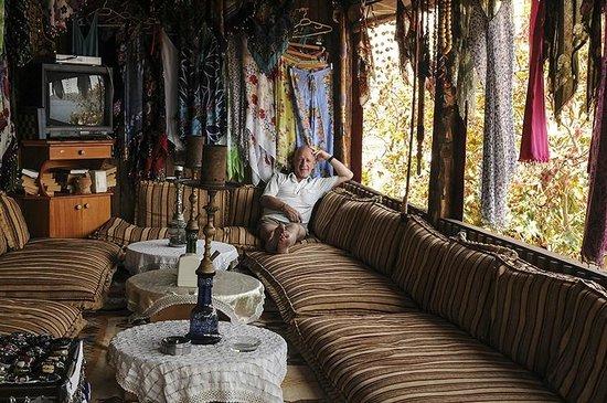verkoopster Turks handwerk - Foto van Castle of Simena ...