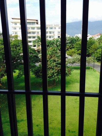 Napatra Hotel: View from balcony