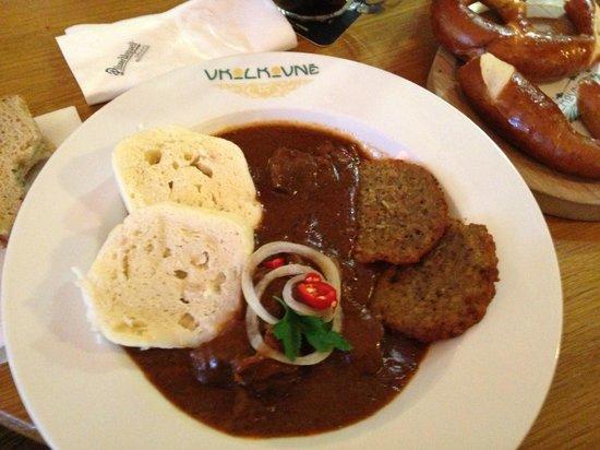 V Kolkovne Restaurant : gulash ottimo!!