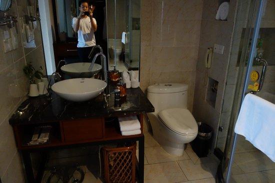 Richful Green Hotel : bathroom
