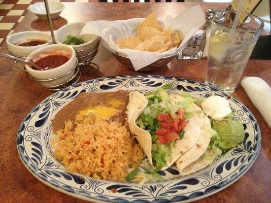Abuelo's: Fajita Tacos