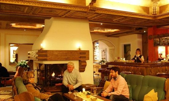 Hotel Kristberg: Lobby Bar