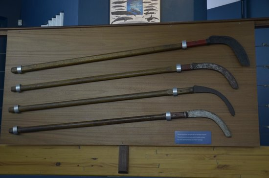 The Whale House Museum: Hunting Weapons