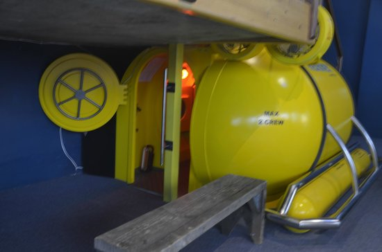 The Whale House Museum: Mini Submarine Replica