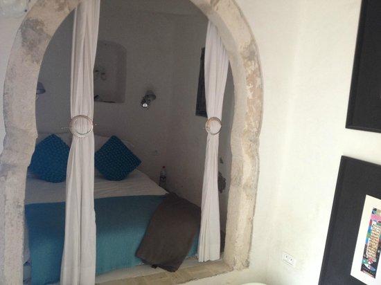 Dar Bibine : camera da letto