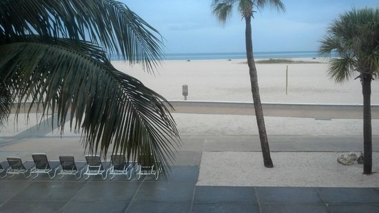 Thunderbird Beach Resort: View from our room