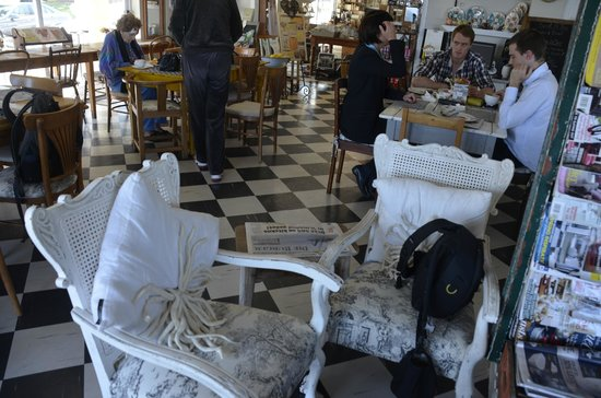 Just Pure Bistro : Beautiful White Chairs...