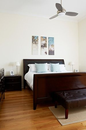 The Guesthouse Hotel: Bedroom Detail. South Building