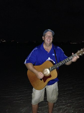 Blue Moon Outdoor Center: singing along with Tim