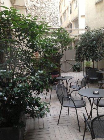 Hotel du Printemps : cour intérieure