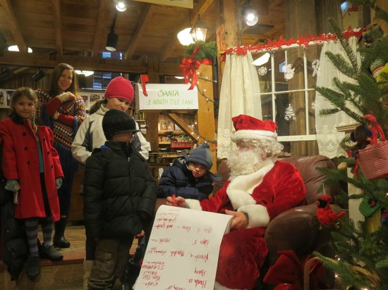 Vermont Country Store: Santa checks his list