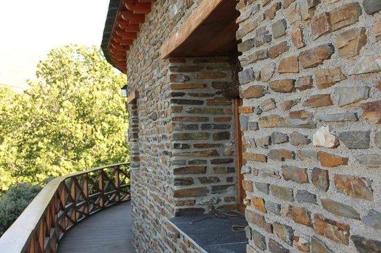 El CastaNar Nazari: Vista para a Sierra Nievada