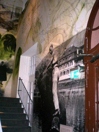 Moselschlösschen: Stairwell