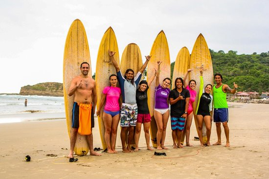 Balsa Surf Camp: Surf lesson