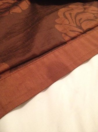 The County Hotel: Stain on Bed Throw