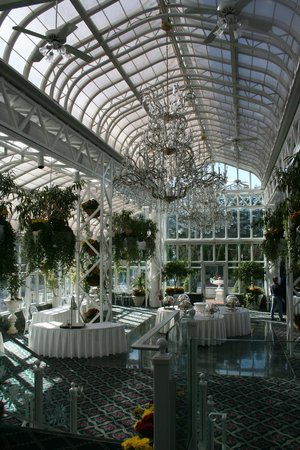 The Madison Hotel: The Conservatory - used for reception and business display area
