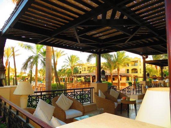 Jaz Makadi Star & Spa : Terrasse