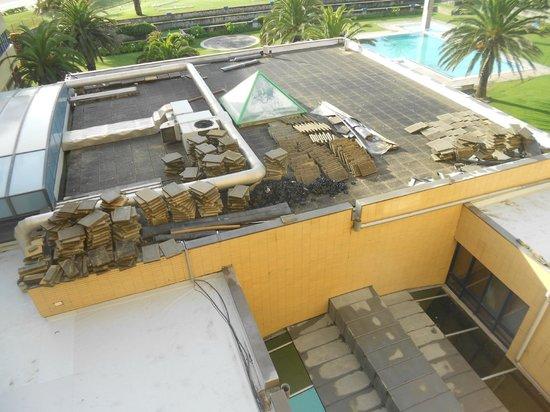 Hotel Solverde Spa & Wellness Center: vue du balcon de ma chambre!
