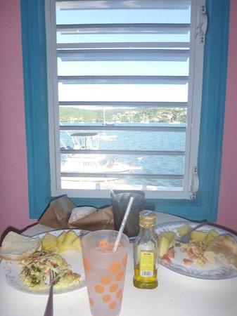 "Villa Fulladoza Guest House: Our little ""breakfast nook"""