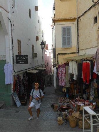 Tangier Casbah: Dalla Kasbah verso la medina