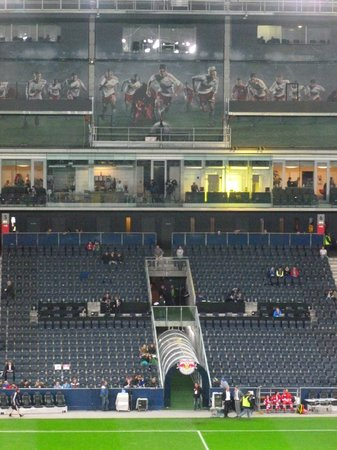 The Stadium Picture Of Red Bull Arena Salzburg Salzburg Tripadvisor