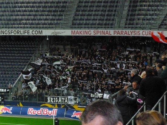 Curva Dello Sturm Graz Picture Of Red Bull Arena Salzburg