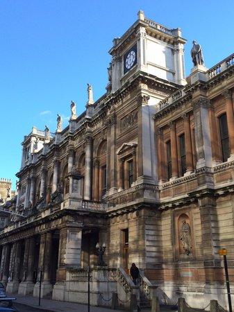 Royal Academy of Arts: Facciata posteriore