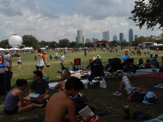 Austin City Limits Live: ACL fest at Zilker Park, Austin TX