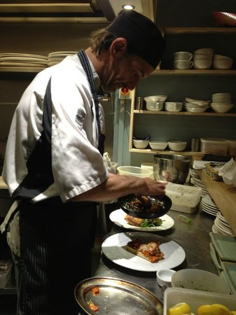 Tanroagan Seafood Restaurant: Head chef Richard Birch