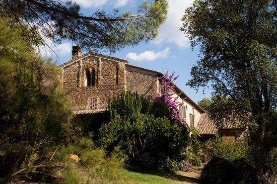 Pieve di Caminino Historic Farm : View of Bifora apartment from the garden