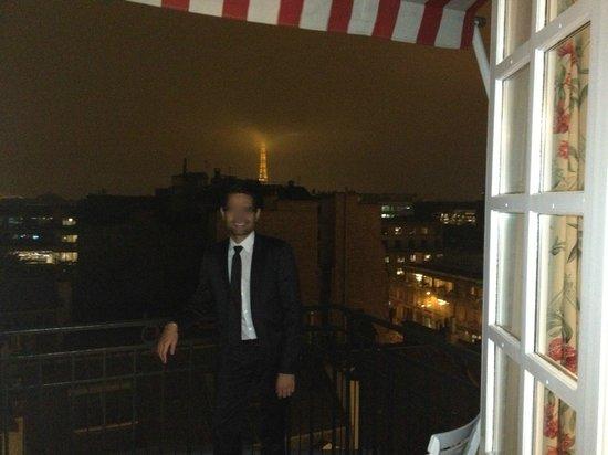 Le Bristol Paris: vue d'un balcon 3