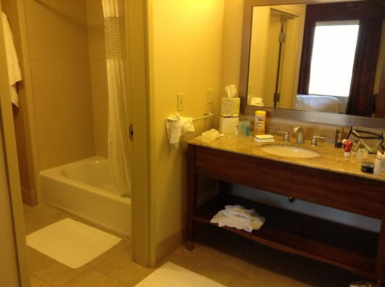 Hampton Inn & Suites Scottsdale/Riverwalk: bathroom
