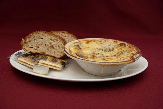 Union Grill: Baked French Onion or 'B.F.O'