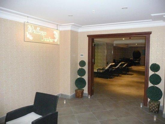 Askoc Hotel: Eingang zum Spa