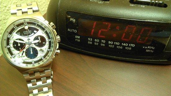 Days Inn & Suites Little Rock Airport: Clock