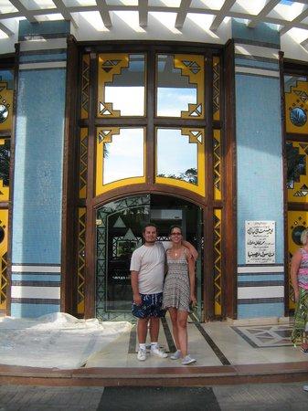 Verginia Sharm Resort: We are in the front Peter + Renata