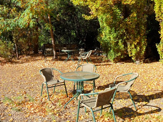 Lodge Andino El Ingenio: sitting area in front yard